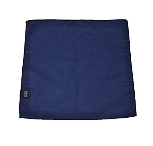 Pochette fazzoletto da taschino uomo sartoriale blu scuro elegante cerimonia