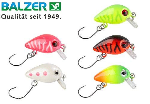 Balzer 5 Trout Crank 3cm 2g - Forellenköder zum Spinnfischen auf Forellen & Barsche, Forellenwobbler, Forellenköder zum Spinnangeln