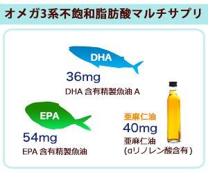 『お徳用オメガ3-DHA&EPA&α-リノレン酸サプリ (90カプセル約3ヶ月分)』の4枚目の画像