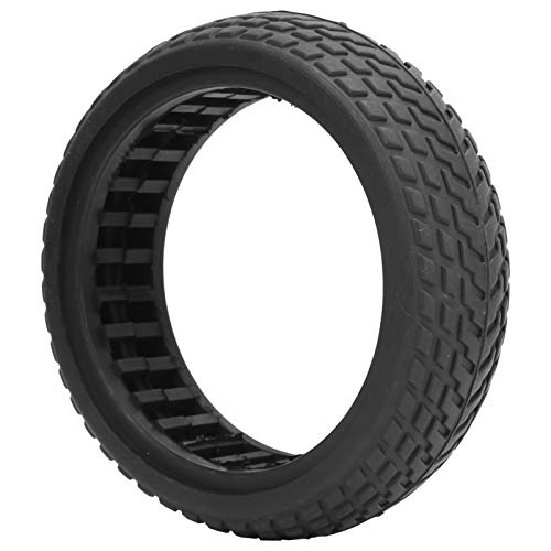 Neumático de Scooter eléctrico, neumático sólido a Prueba de explosiones, neumático de Goma, Ahuecado, amortiguación para Scooter eléctrico de 6.5 Pulgadas