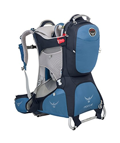 Osprey Poco AG Plus Child Carrier, Seaside Blue, (Prior Season)