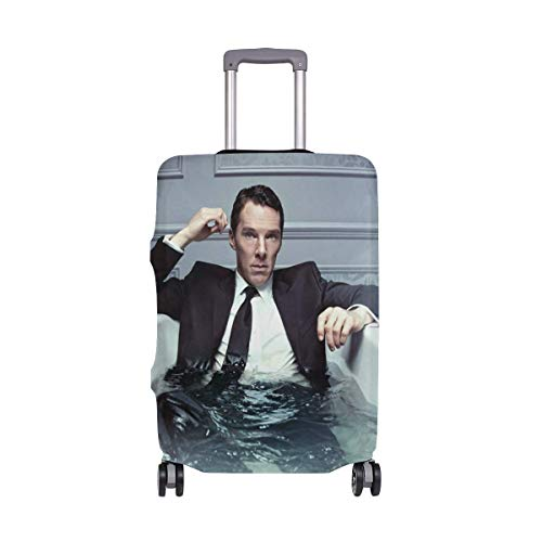 Travel Lage Cover Patrick Melrose Bathtub Suitcase Protector Fits 26-28 Inch Washable Baggage Covers