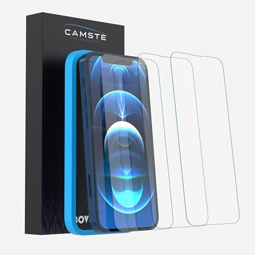 Camste Vetro Temperato Compatibile con Iphone 13 Mini con Kit di Installazione - Pellicola Protettiva Oleofobica, Non Lascia Bolle, Durezza 9H