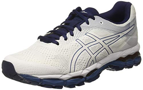 Asics Gel-Superion 2 Hombre Running Trainers 1011A039 Sneakers Zapatos (UK 12 US 13 EU 48, White Grand Shark 100)
