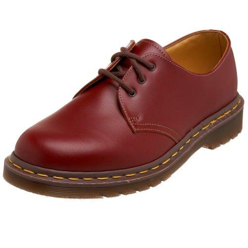 Dr. Martens Unisex-Erwachsene 1461 Vintage Quilon Derby, Rot (Cherry Red), 39
