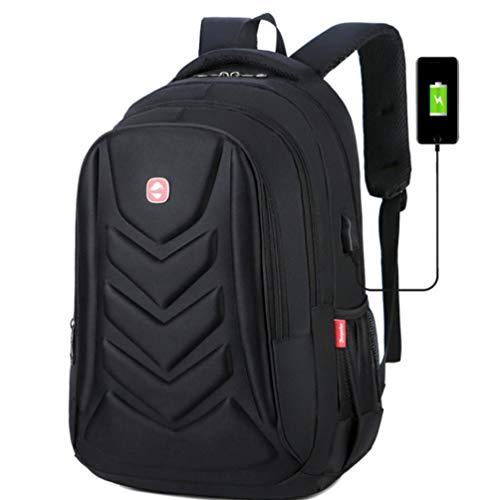 Rucksack Herren Laptop Rucksäcke, Business Herren Reiserucksack, 15,6 Zoll Rucksack, Jungen Schultaschen-D