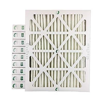 "16x20x2 MERV 8 AC Furnace 2"" Inch Air Filters - 12 PACK"
