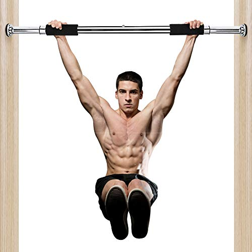 Greensen Pull Up Bars, Doorway Pull-up Bar Push-ups Pull-up Sit-ups Heavy Duty Fitness Exercise Bar for Home Gym Fitness Exercise