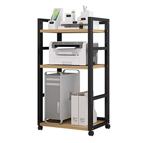 Soporte para Impresora Impresora de bastidores ajustables Oficina Lugar de almacenamiento en rack rack de copia de múltiples capas de suelo de almacenamiento en rack polivalente anfitrión rack de hoga