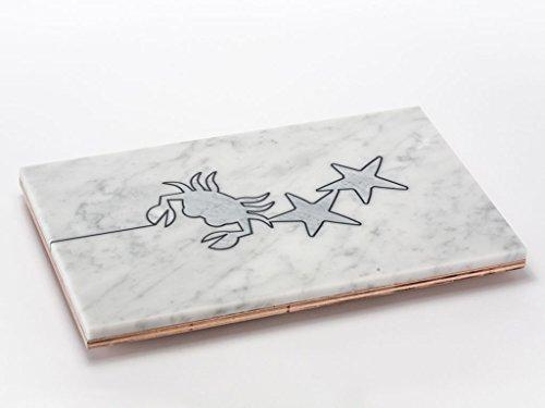 apuana Corporate Tabla de Cortar, mármol, diseño Cangrejo de Ales Sandra taravacci
