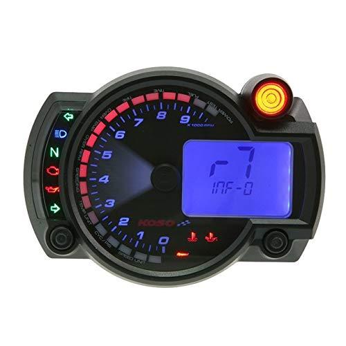 Koso Multifunctional Speedometer RX2N+ GP Style max 10000 RPM