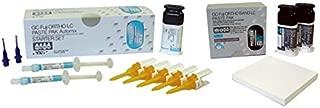 GC America 439487 Fuji Ortho LC Paste-Paste Dual Cure Glass Ionomer Cement for Orthodontic Bonding Starter Set