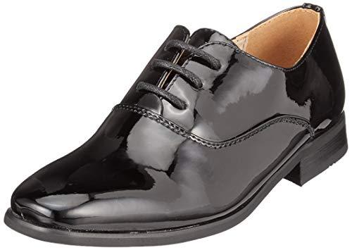 Goor - Zapatos Charol Modelo Oxford niños- Boda/Fiesta/Comunión
