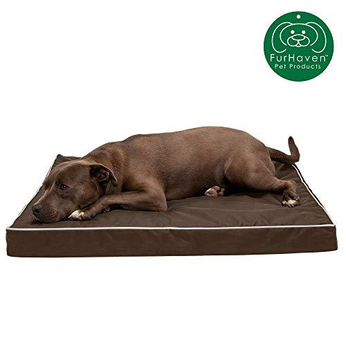 FurHaven Memory Top Mattress Dog Bed