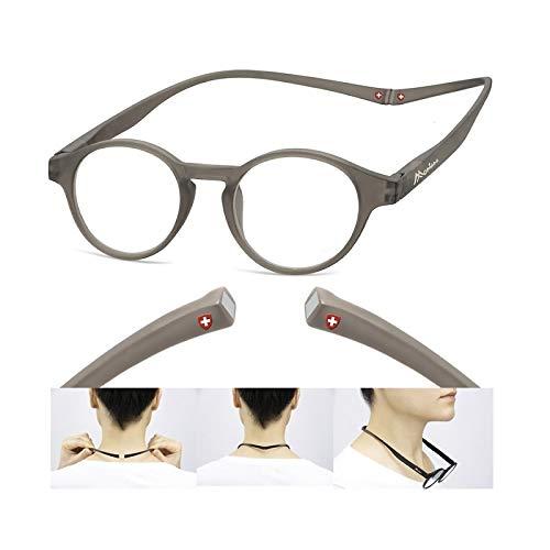 Montana Eyewear MR60C Magnetic Reader - grau +1,50 Dpt.