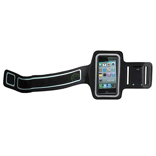MASILY Sport Armband Handy Tasche Samsung Galaxy S4 Schwarz Fitness Joggen Schutz Hülle Neopren