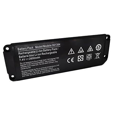 Fully 061384 061385 061386 063404 Speaker Replacement Battery Compatible with Bose SoundLink Bluetooth Speaker Wireless Mini (1 I one) Model Series 063287-7.4V 2230mAh 17Wh