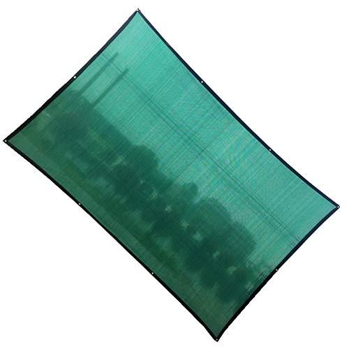 OZYN Quadrangle Shading Cover Outdoor-Markise Verschleißschutz HDPE Sunproof Shading Garten Shelter Patio Sonnensegel Sukkulente Abdeckung Anti-UV for Schwimmbad (Color :...