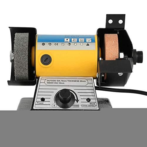 Amoladora eléctrica multifuncional, mini mesa pulidora 10000rpm para cortar la herramienta de...