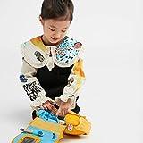 Affenzahn Kulturtasche Tiger für 1-3 Jährige Kinder im Kindergarten – Gelb - 5
