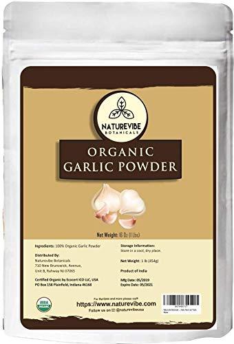 Naturevibe Botanicals USDA Organic Garlic...