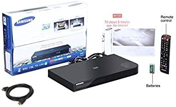 $199 » Newest Samsung Smart 3D and wifi Blu-ray Disc Player with Anynet+ remote and 15 preloaded apps,Up to 1080P full HD upconvesion Plus FYX 6FT high Speed HDMI cable, USB and built-in wifi (3D and wifi)