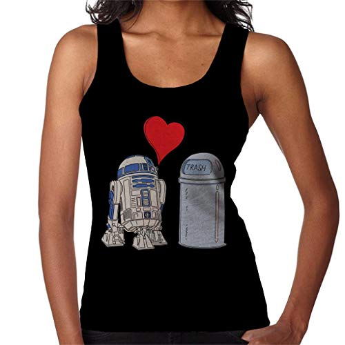 Star Wars R2 D2 Falling in Love - Chaleco para mujer