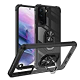 Yayoii Compatible with iPhone 12 Mini Case, Military Grade Fully Protection with Rotating Kickstand, 4 Corners Shockproof Cover, Anti-Yellowing Scratch-Resistant, 5.4 inch (2020)