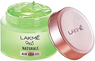 LAKMÉ 9 To 5 Naturale Aloe Aqua Gel, With Aloe Vera And Glycerine, Lightweight, Non Sticky, For Hydrated And Moisturized...