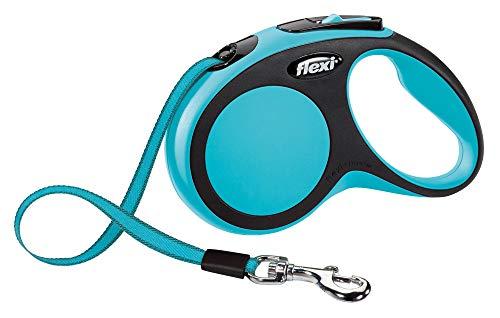 flexi New Comfort S Gurt 5 m blau für Hunde bis 15 kg