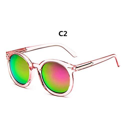 Taiyangcheng Frauen Erwachsene Spiegel Nagel Mode Stil Box Sonnenbrille Frauen Männer Marke Pfeil Transparente Membran