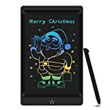 Sunany Tableta de Escritura LCD 8,5 Pulgadas Color, Tableta de Dibujo LCD, Writing Tablet con Teclas Borrables,Regalos para Niños, Juguete Educativo(Negro)