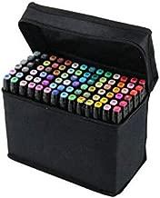 60 Colors Graphic Professional Design Art Twin Tip Marker Pen Series A Black