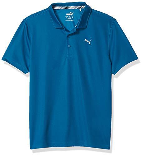 PUMA Jungen Golf 2019 Polo, Jungen, Polo, Golf 2019 Boy's Polo, Digi-Blue, Medium