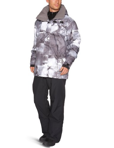 Quiksilver Next Mission Printed Ins Jacket - Inkisition Black - Small