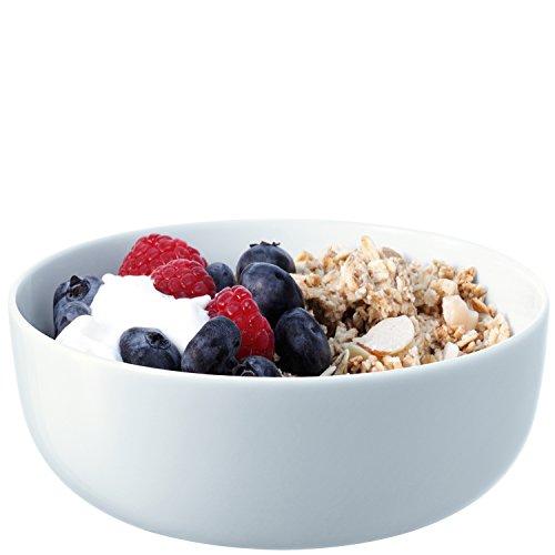 LSA International - Set de 4 boles para sopas o cereales, curvado, 15cm de diámetro