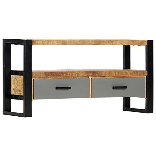 vidaXL Massief Mangohouten Tv-meubel 100x30x50 cm Tv-Kast Televisiemeubel