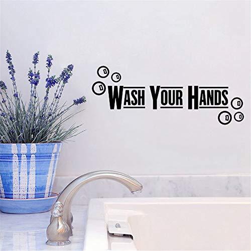 Wandaufkleber Schlafzimmer Waschtisch Badezimmer Sprüche Home Decor WC Aufkleber