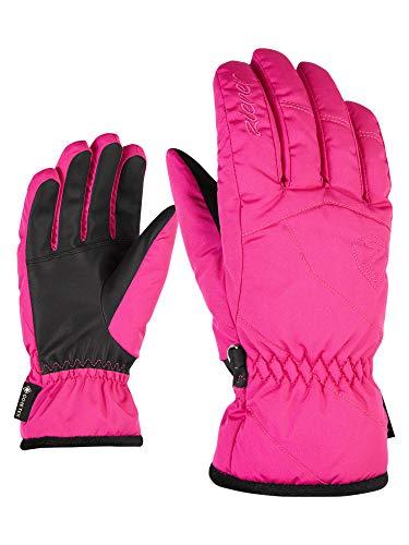 Ziener Gloves Karri Gore Tex Gants de Ski pour Femme Taille Unique Rose (Pop Pink)
