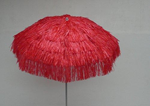 Maffei Art 6 Kenia, Parasol Rond diamètre cm 200, Couvert avec Rafia, Fabriqué en Italie.