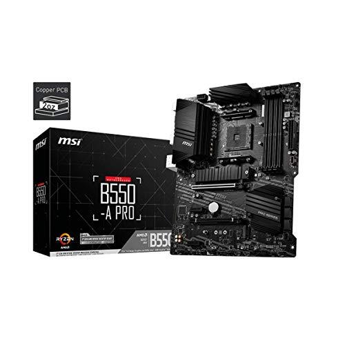 MSI B550-A PRO AMD AM4 DDR4 M.2 USB 3.2 Gen 2 HDMI ATX Motherboard