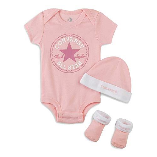 Converse MC0028 LC0028-A6A Body mit Kapuze, für Mädchen 0-6 Monate