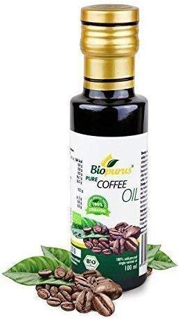 Organique Certifié Presséà Froid Graines de Café Huile 100ml Biopurus