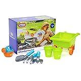 Little Tikes 24-0071 Childrens Wheelbarrow Outdoor Tools Garden Toy Set
