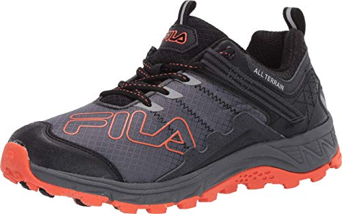 Fila Blowout 19 Trail Castlerock/Black/Red Orange 9 D (M)