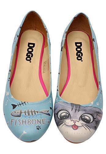 Dogo Shoes Women's Fishbone Lover Flats (US 10 - EU 40)