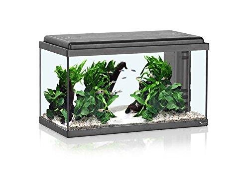 Acquario aqua led 60 60x30x30h 54 litri con led riscaldatore e filtro biologico