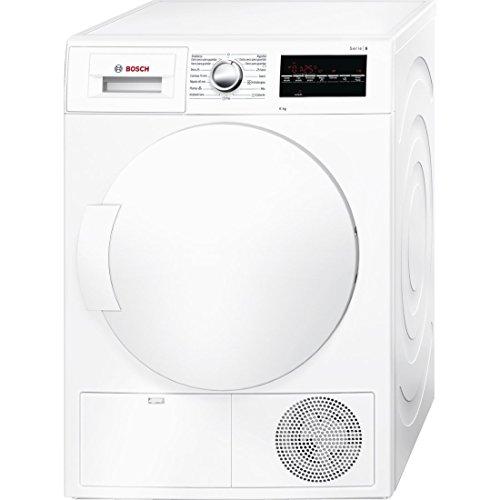 Bosch Serie 6 WTG84260EE Autonome Charge avant 8kg B Blanc sèche-linge - Sèche-linge (Autonome, Charge avant, Condensation, Blanc, Rotatif, Tactil, Droite)