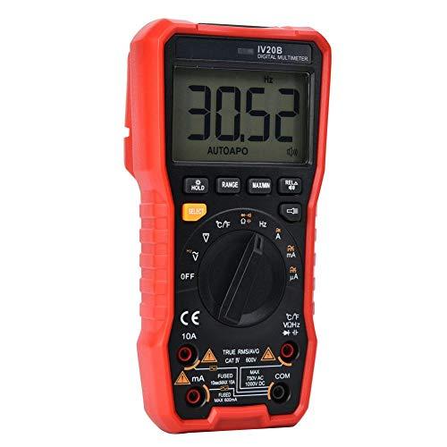 Digital Multimeter Frequency 5999 (3 5/6) Count Measurement Current Handheld-Unterstützung für Voice Broadcast für Elektriker zu Hause
