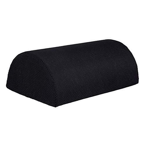 Luntus - Cojín ergonómico para pies bajo el escritorio y reposapiés (tela antideslizante)